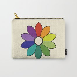 James Ward's Chromatic Circle 1903 (no background; interpretation) Carry-All Pouch