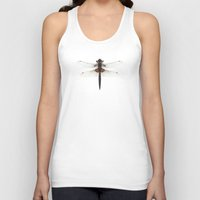 dragonfly Tank Tops featuring Dragonfly by Wild Poetry