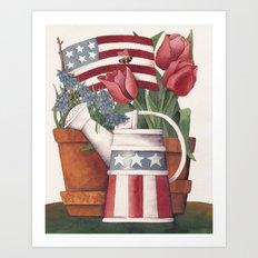American Summer Art Print
