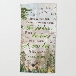 But in the end Beach Towel