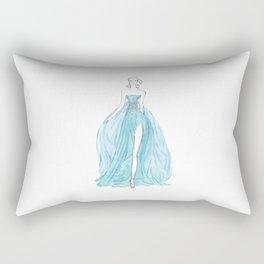 Floating Dress Rectangular Pillow