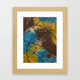 Sepia Dusting Framed Art Print