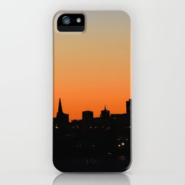 City Silhouette iPhone Case