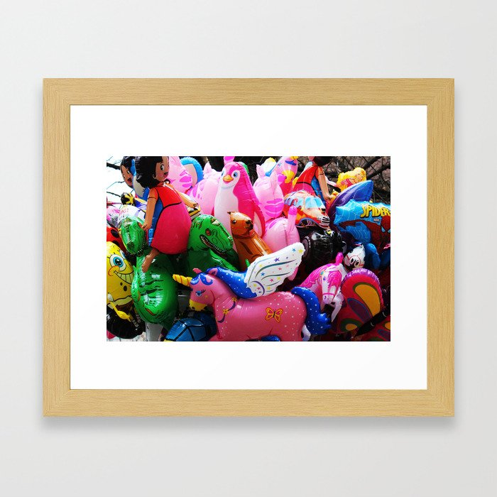 Baloons Framed Art Print