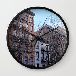 concrete jungle Wall Clock