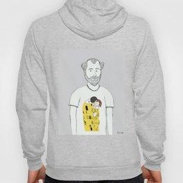 Gustav Klimt portrait Hoody