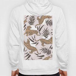 Tigers and Bamboo Leaves Hoody