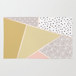 Abstract geometric pattern . Rug