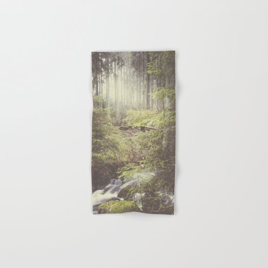 The paths we wander III Hand & Bath Towel