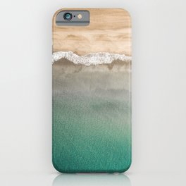 Peaceful, sandy beach iPhone Case