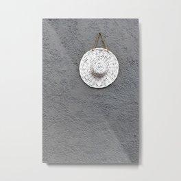 Grey Moments Metal Print