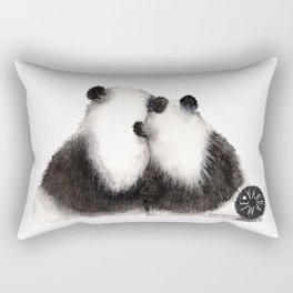 Pandamie Panda Couple Rectangular Pillow