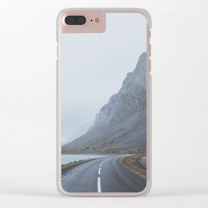 Þjóðvegur, Iceland Clear iPhone Case