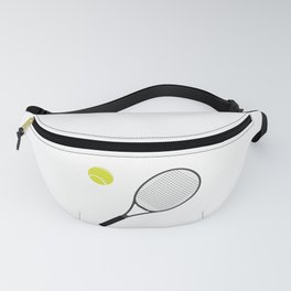Tennis Racket And Ball 1 Fanny Pack