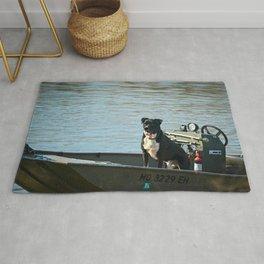 Dog Gone Fishing Rug