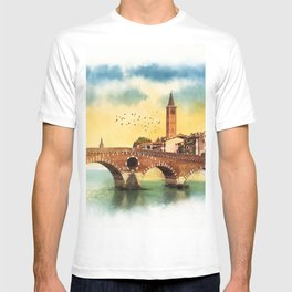 Bridge in Verona T-shirt