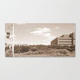 Past Present Puture  Canvas Print