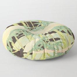 Shin-Bijutsukai – Japanese Design Bamboo At Night Floor Pillow