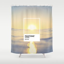 PANTONE SERIES – SUNRISE Shower Curtain