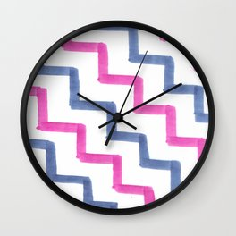 Missoni Stairs Wall Clock