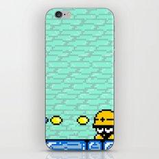 Minion's Last Rites: Mega Man's Metool iPhone & iPod Skin