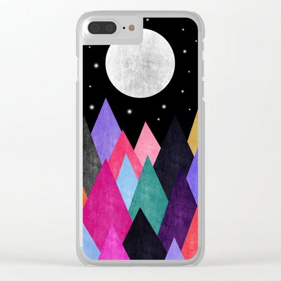 Moon Light XIX Clear iPhone Case