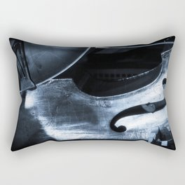 Double Bass Rectangular Pillow