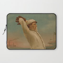 Vintage Backyard Baseball Player - Ames NY Laptop Sleeve