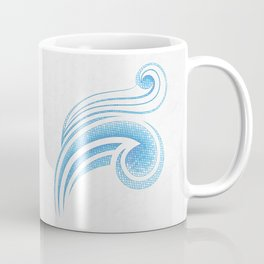 Air Mosaic Coffee Mug