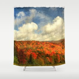Fall in the Highlands Shower Curtain