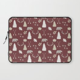 Woodland - Cranberry Laptop Sleeve
