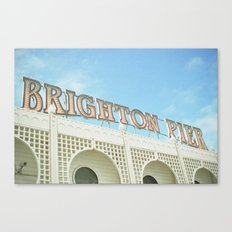 Brighton Lights Canvas Print