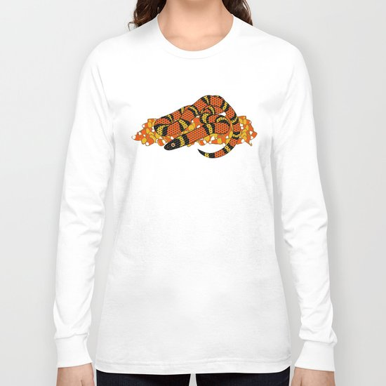 Mexican Candy Corn Snake Long Sleeve T-shirt
