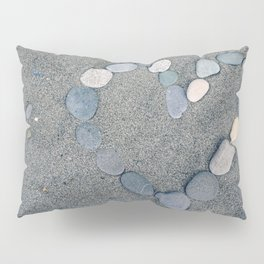 Stone Heart Pillow Sham