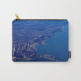 Chicago By Air No. 1: The Lakeshore from Downtown to Evanston Carry-All Pouch
