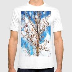 tree Mens Fitted Tee White MEDIUM