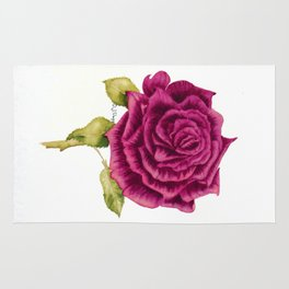 Rose Coloured Kisses Rug
