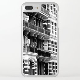 London 4 Clear iPhone Case