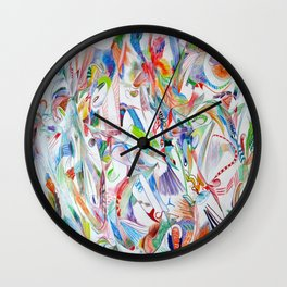 Environmental Colors Wall Clock