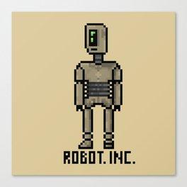PIXEL ROBOT - ROBOT. INC. Canvas Print