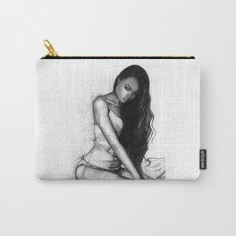 Natalie Danish - Kneeling Girl Carry-All Pouch