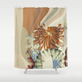 Autogenic Form Flowers  ID:16165-150817-31621 Shower Curtain