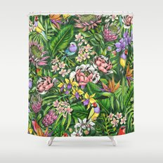Stand out! (juicy lime) Shower Curtain