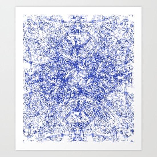 CPU Art Print