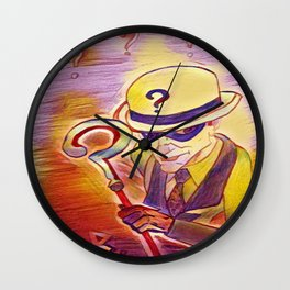 Riddle of radiation Wall Clock