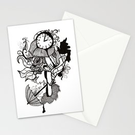 Lost track of time... Stationery Cards