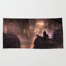 The Dark Knight Beach Towel