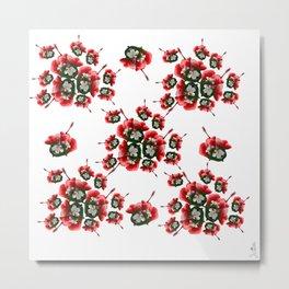 Malvaceae Hibiscus Metal Print