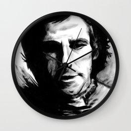 DARK COMEDIANS: Ben Stiller Wall Clock