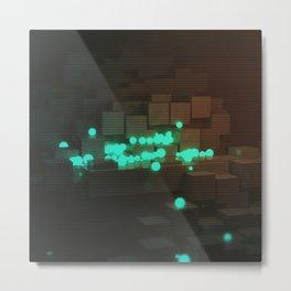 Day 0179 /// Spheres N' Blocks Metal Print